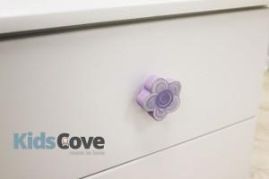 Doorknob - Lilac Flower
