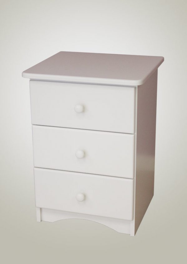3 three Drawer Pedestal