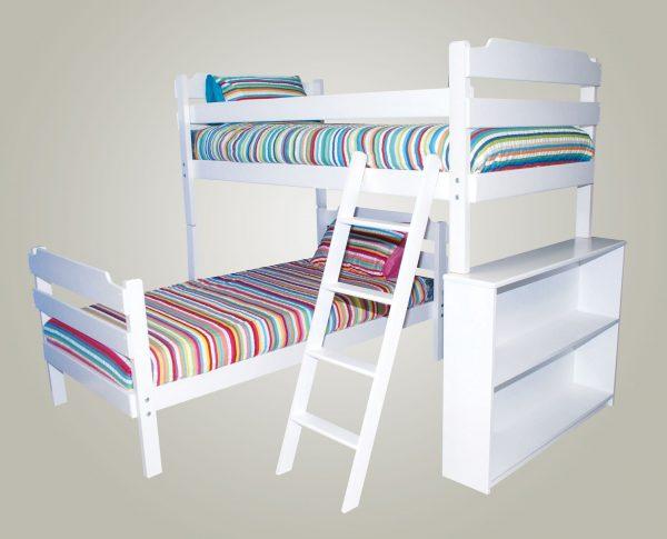 Luke L-Shape Bunk Bed Conversion