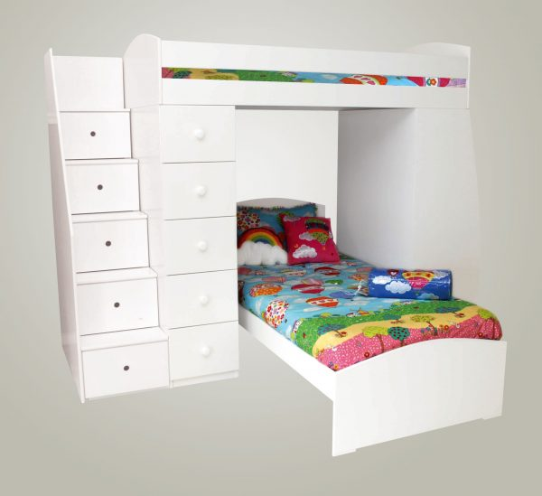 Max Multi Bunk Bed without bottom bed