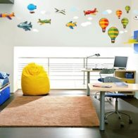 Aviation aeroplane vinyl wall stickers - Kids Cove
