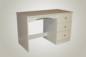 3 drawer Desk tongue and groove