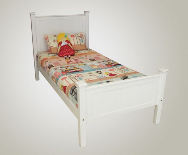 Riley Solid Bed MDF and Pine