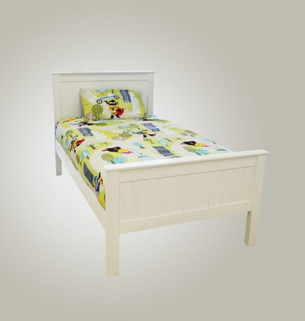 Rory solid bed with matching footboard - Kids Cove