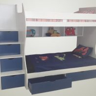 Storage Bunk Bed - Kids Cove