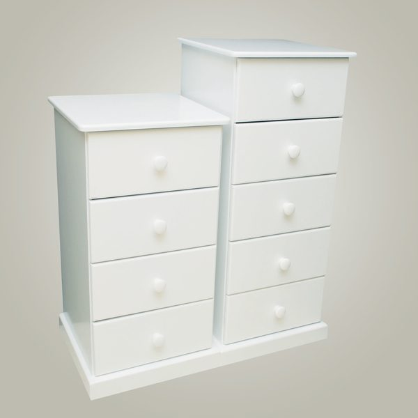 four drawer tallboy