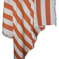 beachouse Orange Cotton Collection Throws