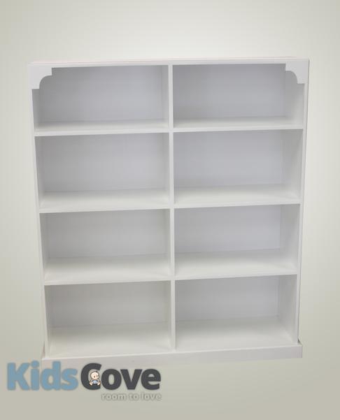 Caiden Classic Bookcase/Bookshelf 4 shelves 2 columns