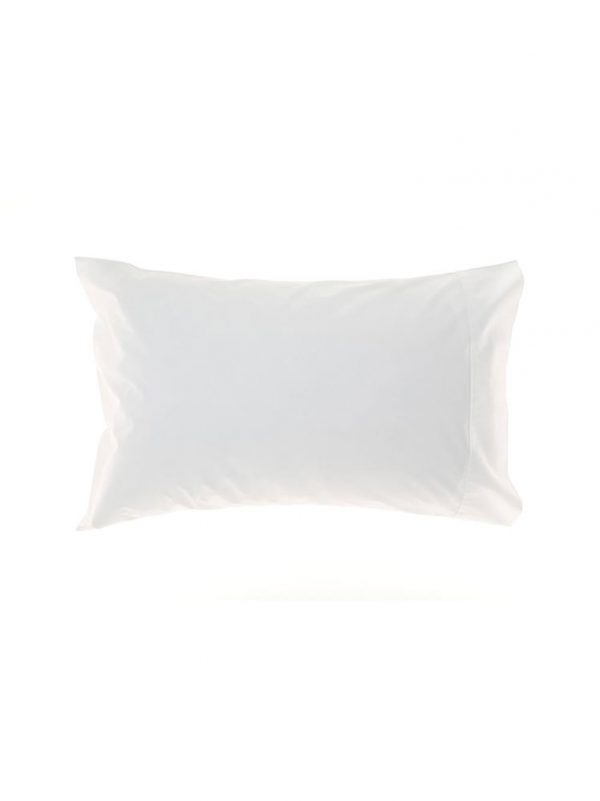 100% cotton white pillowcase