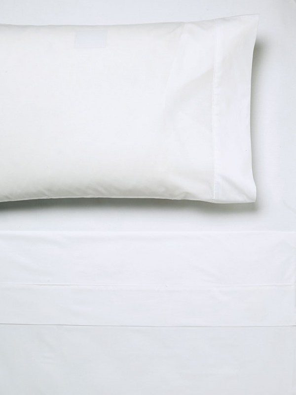 100% cotton 250 thread count percale fitted sheet