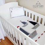 Sail Away Egyptian Cotton Baby Duvet Cover Set
