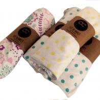 Cotton Collective Cot Blankets polka dot_little birdie