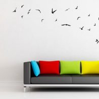 Fly Away Birds vinyl wall art