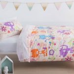 Happy Cat Duvet Cover Set Squiggles - Kids Cove
