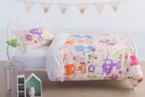 Happy Cat Duvet Cover Set Squiggles - Kids Cove