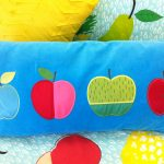 Apple Orchard Scatter Cushion front - Kids Cove