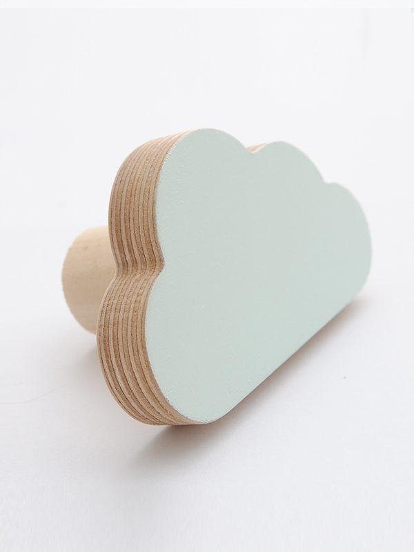 Cloud Wall Hook mint - Kids Cove