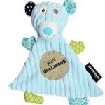 Deglingo Illicos Polar Bear Baby Doudou Blanket - Kids Cove
