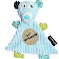 Deglingo Illicos Polar Bear Baby Doudou Blanket - Kids Cove