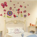 Butterfly garden vinyl wall stickers room - Kids Cove