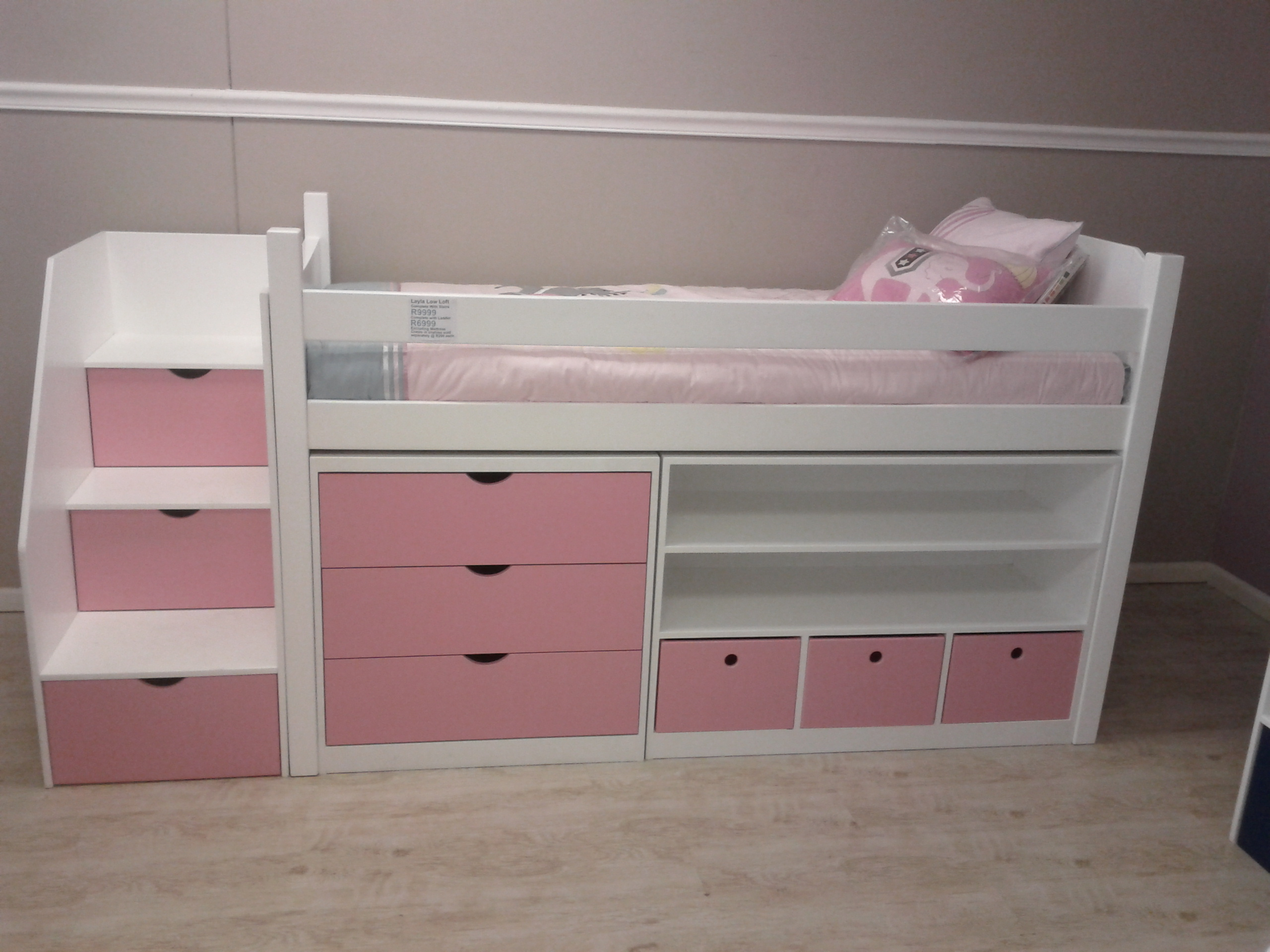info for 03ee7 50918 Layla Low-Loft Bed