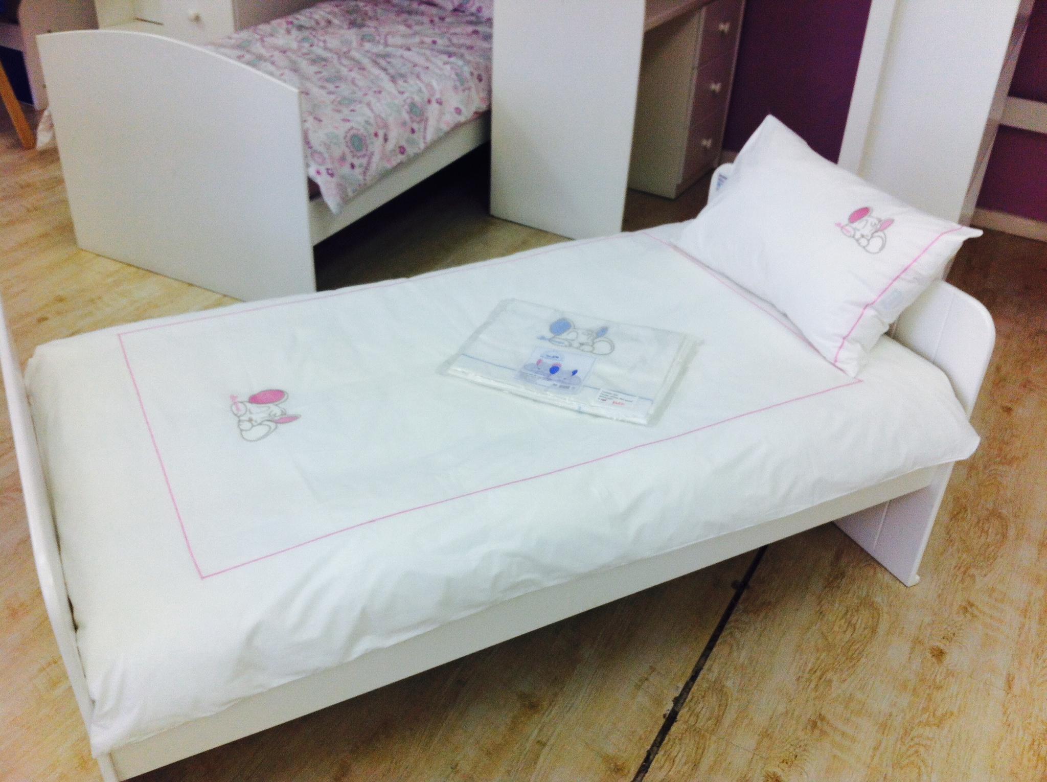 Jessie Toddler Bed Duvet Cover Pink Hamster