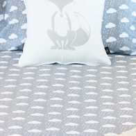 Cloudy day duvet cover close up - Kids Cove