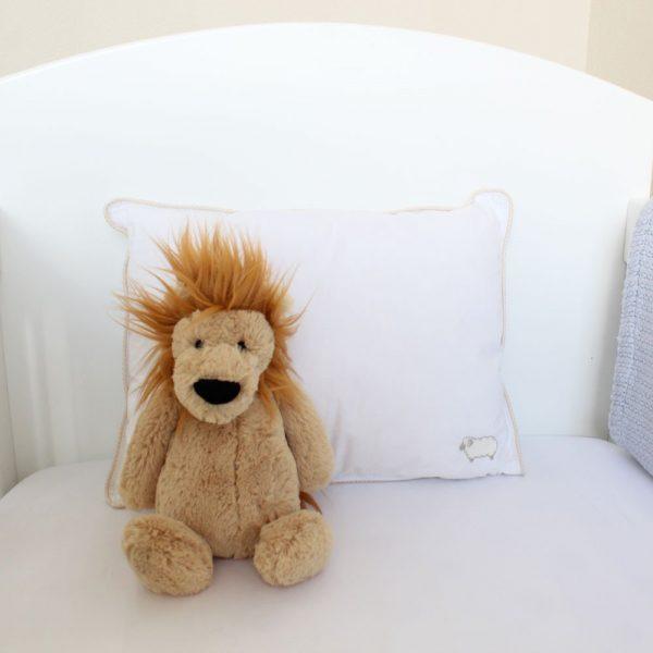 Wool Cot Pillow - Kids Cove