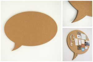 Oval Speech Bubble Pinboard - Kids Cove