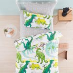 Dinotopia duvet cover set - Kids Cove