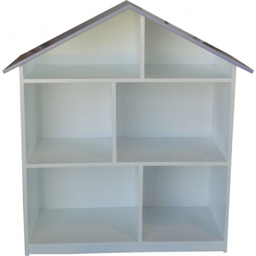 Doll house bookshelf 2 tier - Kids Cove