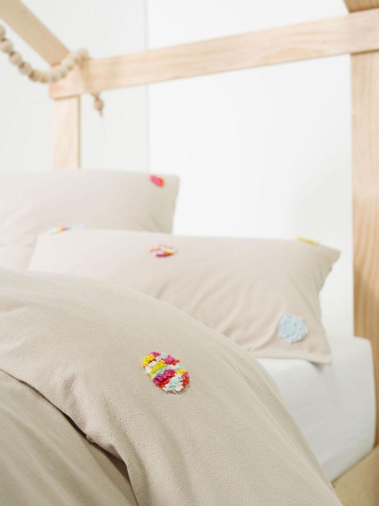 Kiki Linen Duvet Cover Set For Girls Rooms Kids Cove