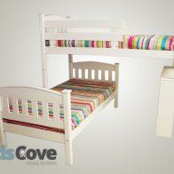 Madison L-Shape Bunk Bed - Kids Cove