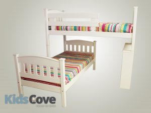 Madison L-Shape Bunk Bed - Kids Cove