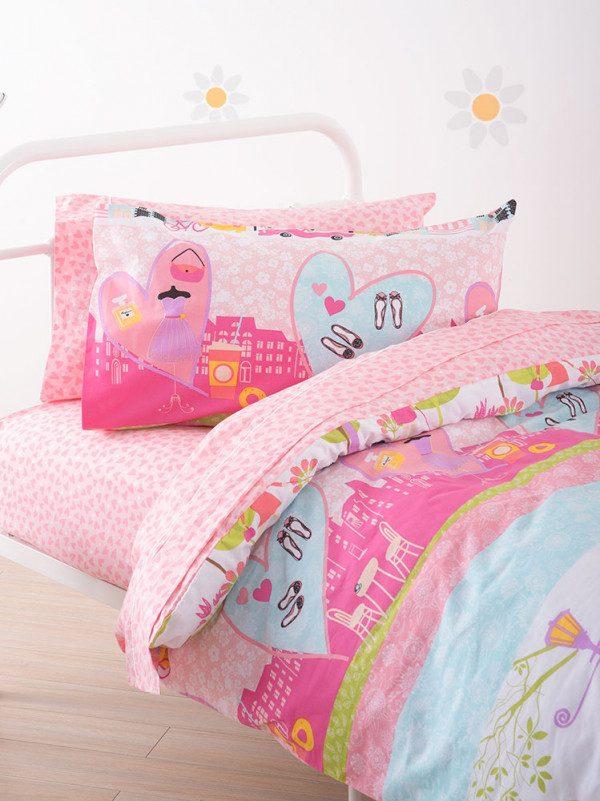 Shopping duvet cover - detail - Kids Cove