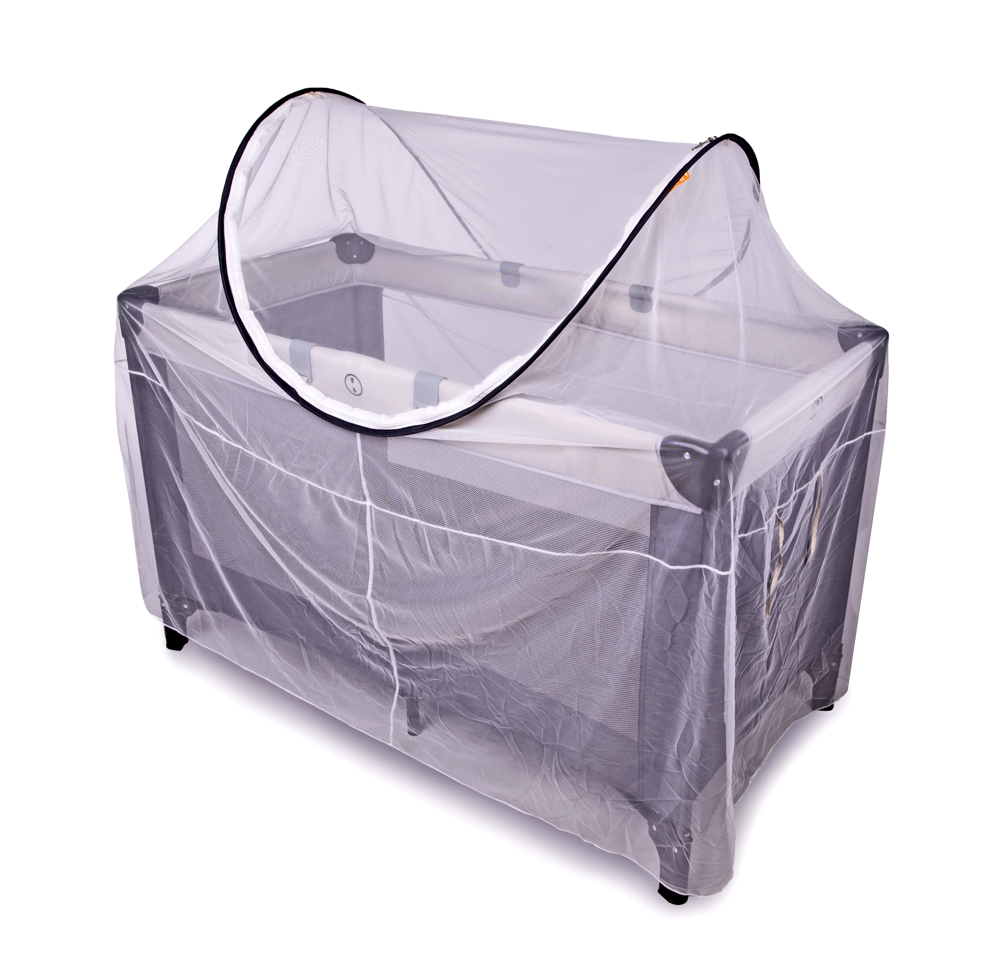 Deryan Peuter Bed.Pop Up Mosquito Net For Baby S Cot Standard Or Large Kids Cove