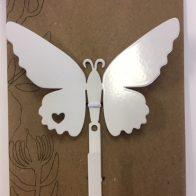 Butterfly hook white