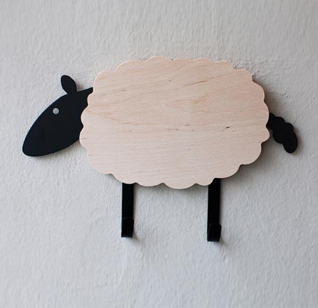 Baby Sheep Wall Hook - Kids Cove