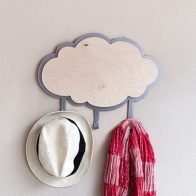 Silver lining cloud hook - Kids Cove