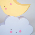 Cloud and moon night lights - Kids Cove