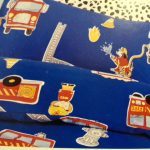 Fire Engine duvet cover detail 2 - Kids Cove