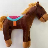 Henry Horse novelty cushion - Kids Cove
