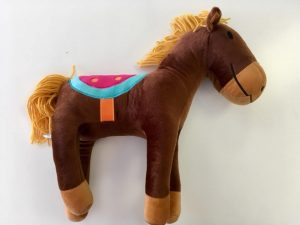 Henry Horse novelty cushion - Kids Cove