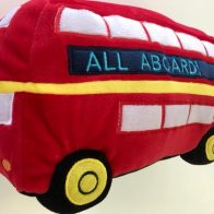 London Bus Novelty cushion - Kids Cove
