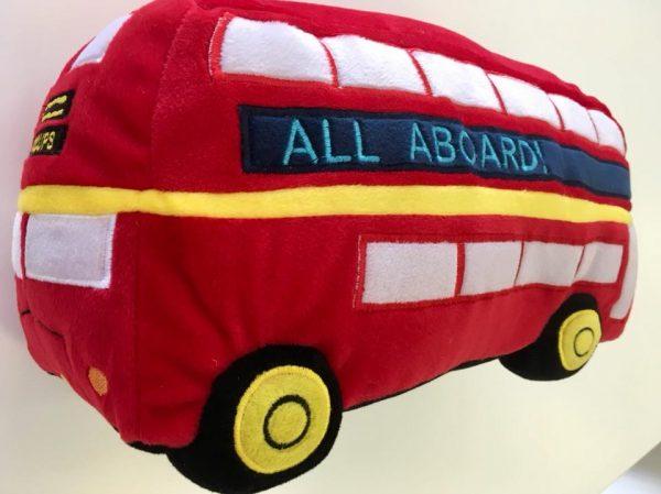 London Bus Novelty cushion - Kids Cove