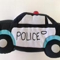 Police car novelty cushion - Kids Cove