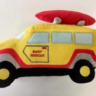 Sam Surf Truck Novelty Cushion - Kids Cove