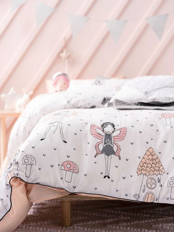 Enchanted Fairy Duvet Cover Detail - Kids Cove