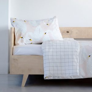 Swan duvet cover - Kids Cove