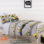 Construction Zone Duvet Cover Set - Kids Cove